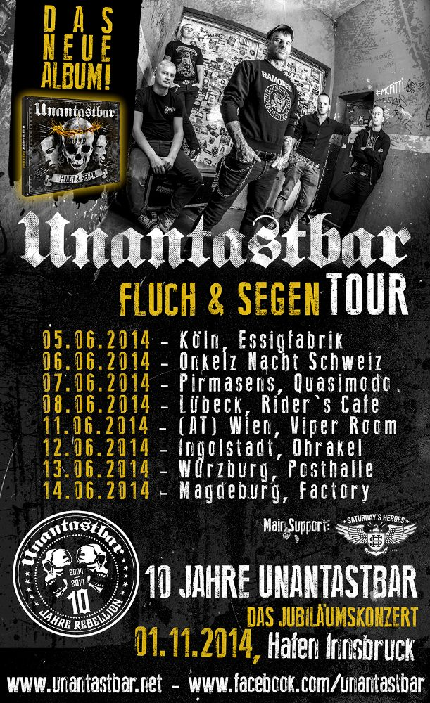 unantastbar fluch und segen für immer mein neues album punkrock punk deutschrock