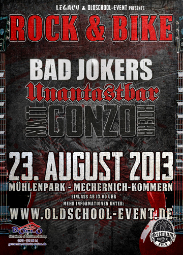 Unantastbar Rock and Bike Gremium MC Mat Gonzo Roehr Bad Jokers