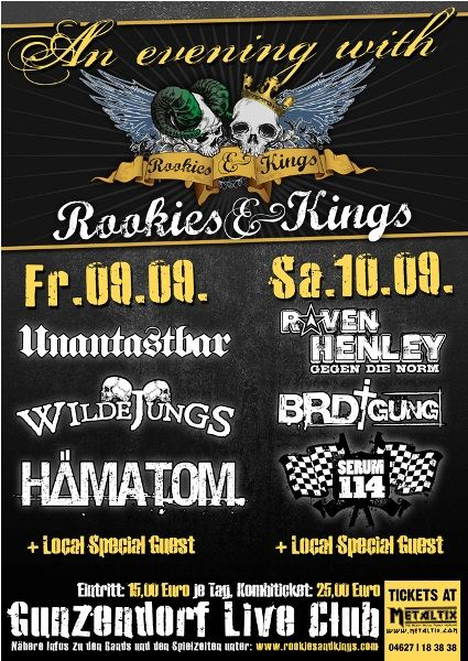 Unantastbar Rookies and Kings Serum 114 Hämatom Wilde Jungs