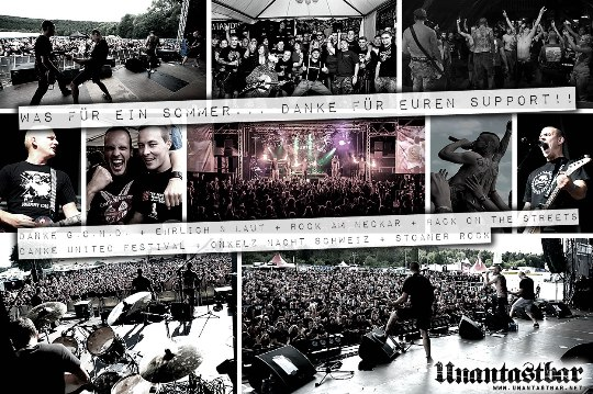 Unantastbar GOND Ehrlich und Laut Rock am Neckar Back on the Streets United Festival