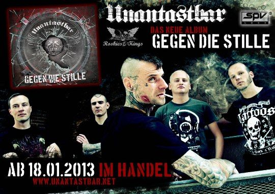 unantastbar gegen die stille neues album punk punkrock rock rookies kings