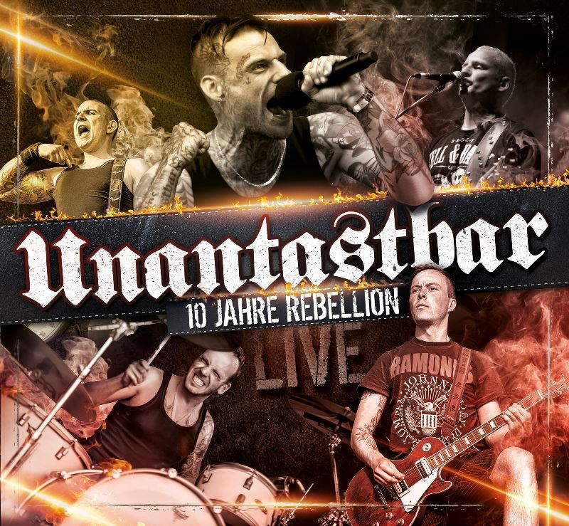 unantastbar 10 jahre rebellion live album punk rock