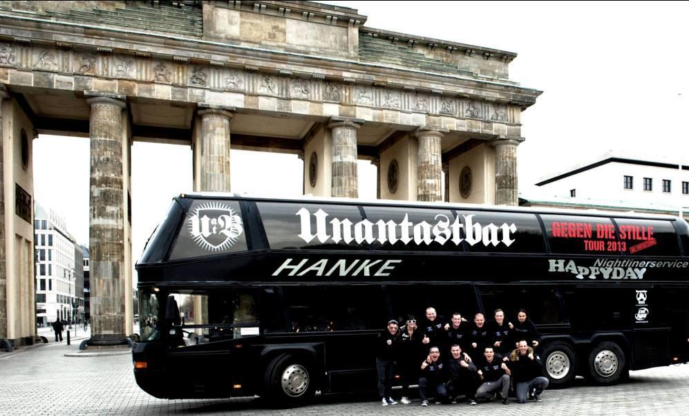 unantastbar nightliner tour berlin