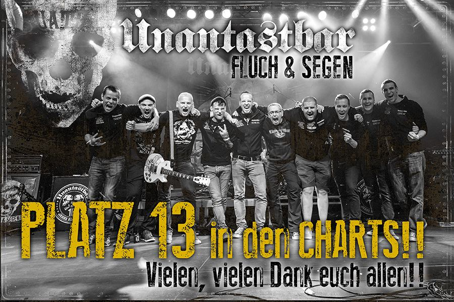 unantastbar fluch und segen charts album germany media control