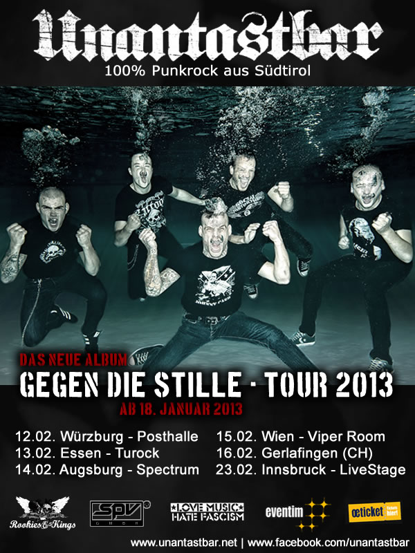 unantastbar tour gegen die stille konzert live tickets
